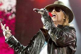 Guns N' Roses actuará en julio en Palma dentro de su gira por Europa