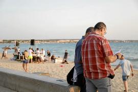 La organización religiosa no tiene licencia para actuar en la Playa Palma