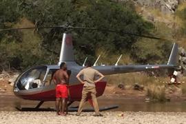 Denuncian al piloto de un helicóptero por aterrizar en el Torrent de Pareis