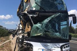 Autocar accidentado
