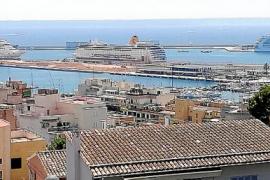 Los cruceros de Palma emiten el 10 % del CO2 generado por es Murterar