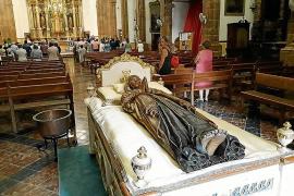 Las estampas de la Mare de Déu Morta ya se pueden visitar en Palma y en la Part Forana