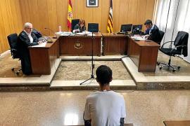 Condenado por un robo con violencia en un supermercado de Palma
