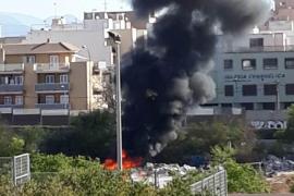 Se incendia un coche en Son Gotleu