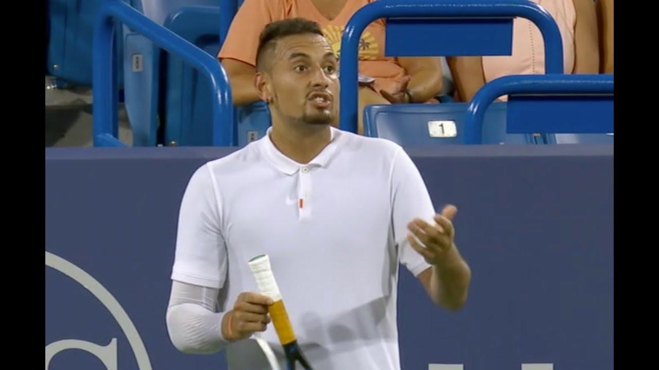 Nuevo incidente del tenista Kyrgios, esta vez en Cincinnati