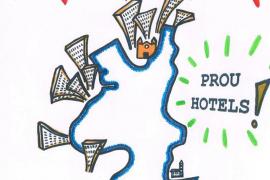 Salvem Portocolom convoca una concentración para pedir la paralización de nuevos hoteles en el casco antiguo