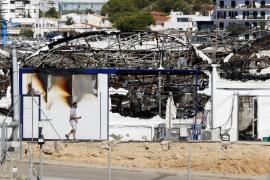 Pérdidas millonarias en el incendio de la Piscifactoría Balear