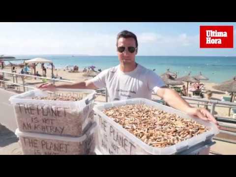 Miquel Garau, coach medioambiental: «Me duele ver que tenemos las playas como un cenicero»
