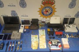 Seis detenidos, tres de ellos menores, por robos con fuerza en Mallorca