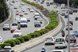 Las carreteras de Mallorca registran un nuevo máximo de circulación de vehículos por día