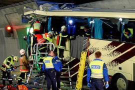 Mueren 22 escolares belgas en un accidente de autocar en Suiza