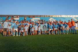 Las mejores imágenes del partido entre el Ibiza y la Peña Deportiva (Fotos: T. Planells).