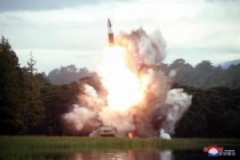 Corea del Norte vuelve a probar su nueva arma con el lanzamiento de proyectiles