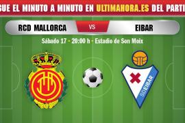 Así ha sido el minuto a minuto del Real Mallorca-SD Eibar