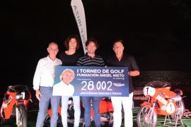 El torneo de golf de la Fundación Ángel Nieto recauda más de 28.000 euros