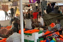 El diputado de Cs Marcos de Quinto califica de «bien comidos» a los inmigrantes del Open Arms