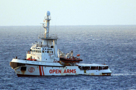 Ofrecen Baleares al Open Arms como alternativa a Algeciras