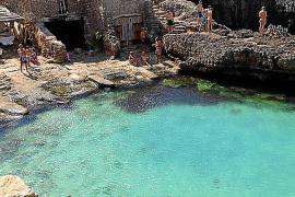 Cala s'Almoina, un lago con aguas cristalinas
