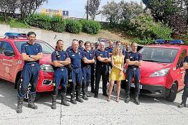 Nissan entrega vehículos a los bomberos de Burgos