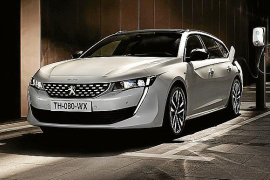Peugeot 508 SW Hybrid, el eléctrico más espacioso