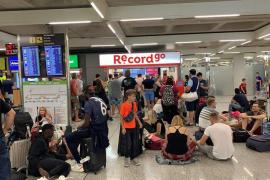 Pasajeros molestos con un 'rent a car' del aeropuerto de Palma
