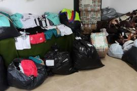 Intervienen más de 2.000 artículos falsos en Porto Cristo y Cala Egos