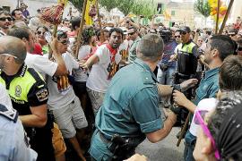 La Fiscalía archiva la imputación de un menor en el tumulto de Sant Agustí