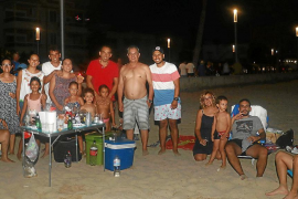 Cenar en la arena de Palma
