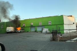 Arde un coche en Palma