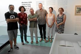 La poesía de Andreu Vidal 'salta' a viñetas de cómic en Es Baluard