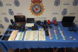 Dos detenidos por robar en apartamentos turísticos de Palma con llave falsa