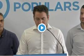 García Egea (PP) dice que los pactos han «desnaturalizado» al PSOE en Baleares