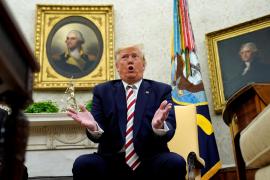 Trump 'planta' a la primera ministra danesa por no querer venderle Groenlandia