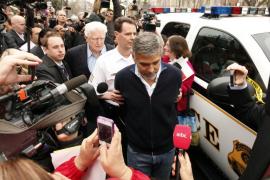 George Clooney, detenido en una protesta contra el gobierno de Sudán