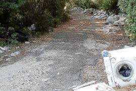 Gadma denuncia un vertedero incontrolado en el Camí de Son Vila de Pollença