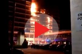Al menos un muerto y 8 heridos en el incendio de un hospital próximo a París