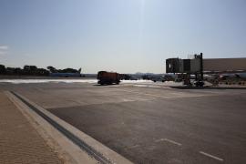 Incendio en el aeropuerto