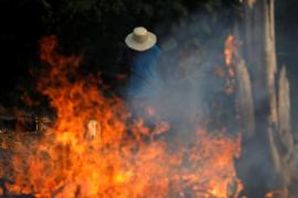 El Amazonas está en llamas y Bolsonaro insinúa que la culpa es de las ONG