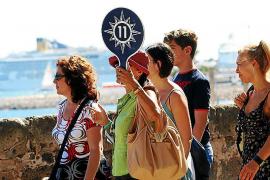Los taxistas de Mallorca dicen que su facturación baja hasta un 70 % si no hay cruceros