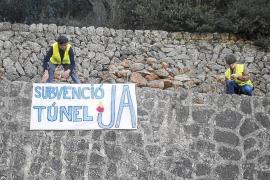 Iniciada una campaña para reclamar de forma masiva la deuda del peaje del túnel de Sóller