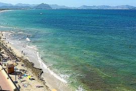 Can Picafort, una de las playas más extensas de Mallorca
