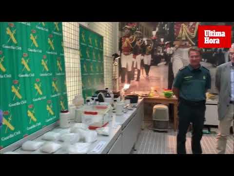 Esto es lo que escondían los narcos en el laboratorio de cocaína de Mallorca
