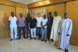 Los senegaleses de Calvià trasladan su preocupación al alcalde por que se les estigmatice o relacione con la delincuencia