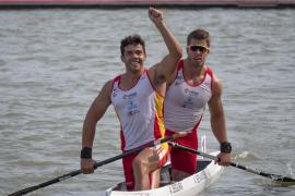 Sete Benavides y Toni Segura, bronce en el Mundial de C2 500