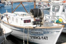 Barcas de pesca en el puerto de la Colonia de Sant Jordi