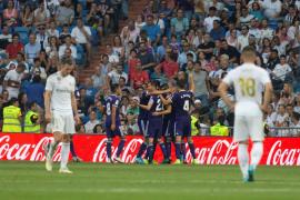 El Valladolid destapa las dudas del Real Madrid