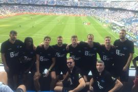 El B The Travel Brand Mallorca Palma visita el Bernabéu