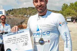 Álvaro Trigo completa un nuevo reto