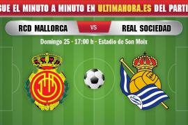 Así vivimos en directo el Real Mallorca-Real Sociedad
