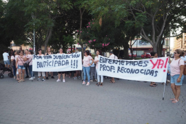 La manifestación de las 'kellys' en Ibiza, en imágenes .